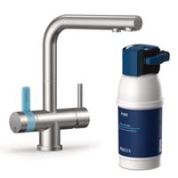Система водоочистная 4 ступени очистки  MyPure P1 с трехходовым смесителем.  BRITA